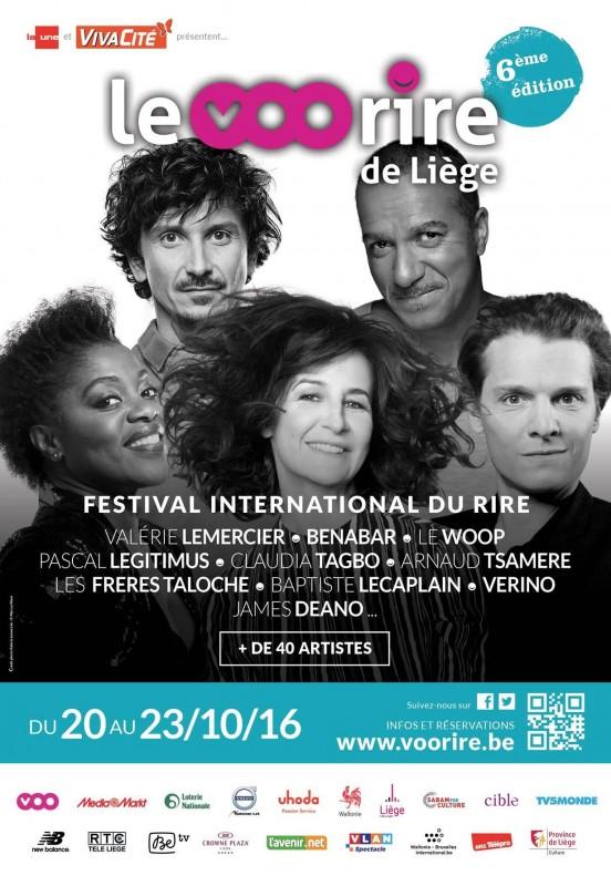 VOO Rire Festival, Tsamre, Tagbo, Benabar, Legitimus, Lemercier, Liège