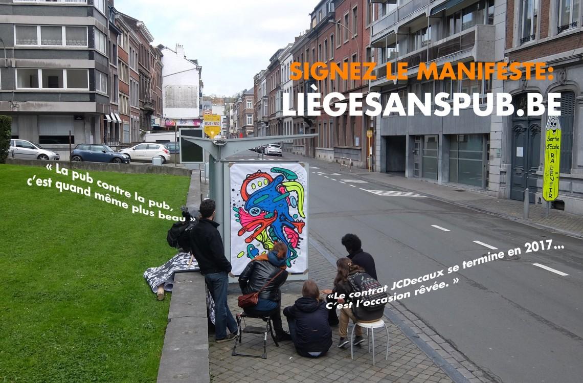 Liège sans pub - Musée urbain éphémère