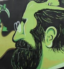 Image de Freud en vert