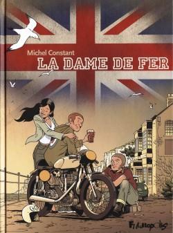 couverture BD avec 3 personnes sur une moto