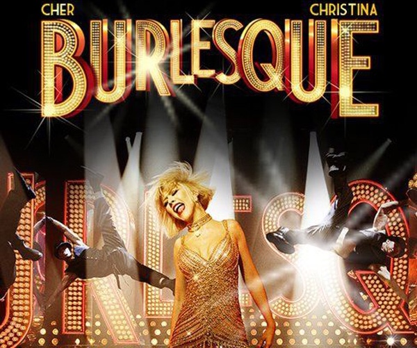 Affiche du film Burlesque avec Christina Agilera et Cher