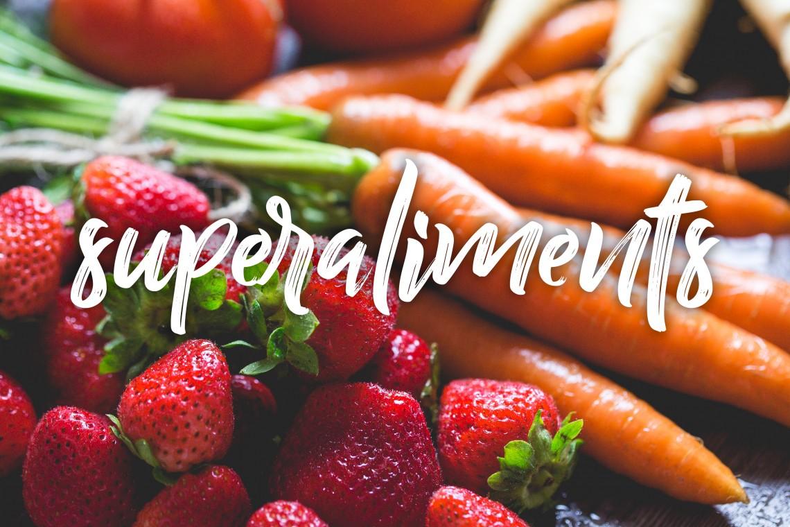 carottes et fraises