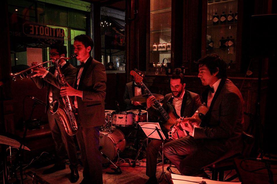 Soirée Jazz Back to Basics à l'Antidote.  © Simon Lejeune
