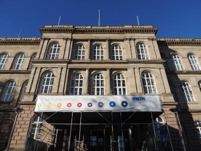 façade du bâtiment de l'université d'Aachen