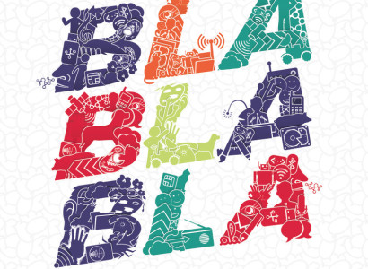 Affiche Bla Bla Bla exposition