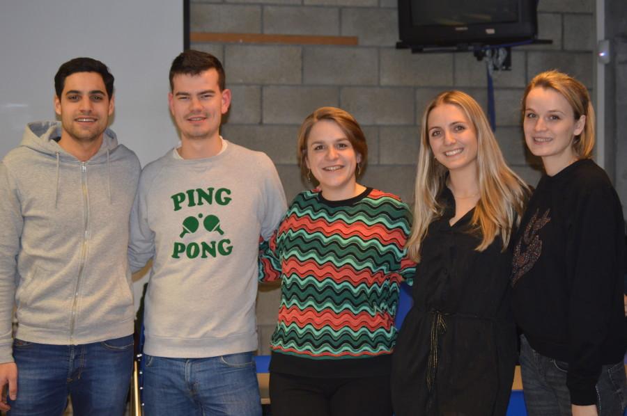 La team du Cercle d'oenologie