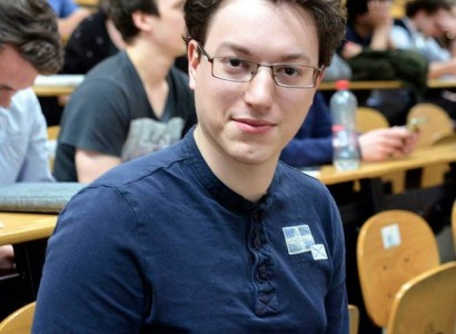 Cédric Lemaire, étudiant en droit et actuel président du cercle politique EDH