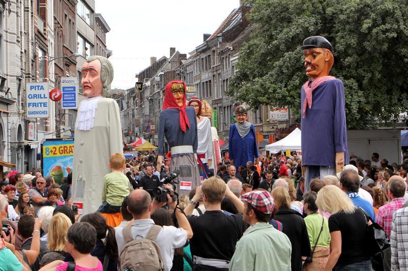Les géants liégeois (© provincedeliege.be)
