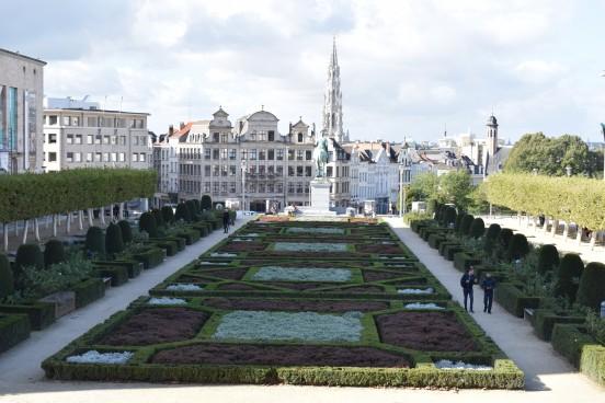 Image d'un Parc de Bruxelles près de la Gare de Bruxelles-Central
