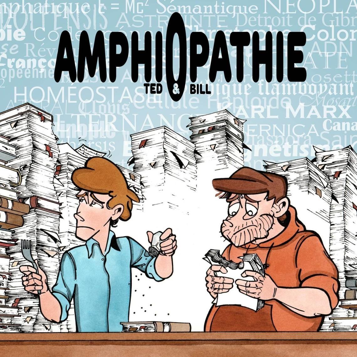 Couverture de la Bande Dessinée Amphiopatie