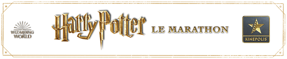 Bannière du Marathon Harry Potter