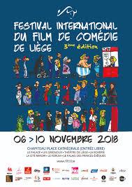 Affiche du Festival International de la Comédie de Liège