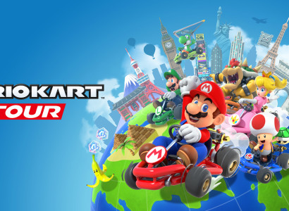 Bannière du jeu Mario Kart Tour