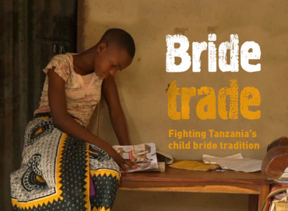"Affiche du documentaire ""Bride Trade. Fighting Tanzania's child bride tradition"""