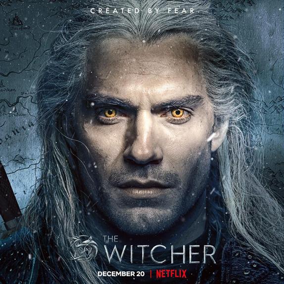 The Wicher Affiche Netflix