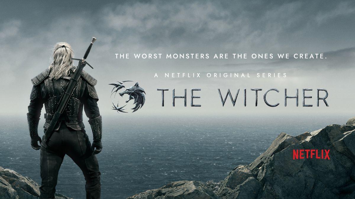 The Witcher Bannière Netflix