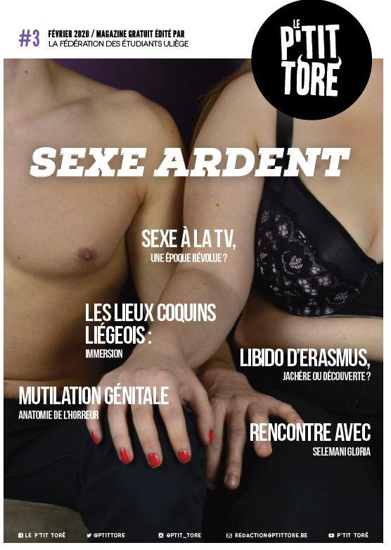 "Couverture P'Tit Torê : ""Sexe Ardent"""