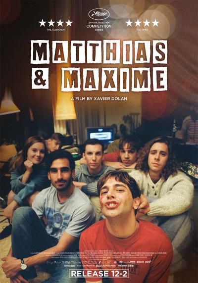 Affiche du film Matthias et Maxime